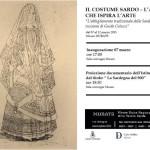 L'abbigliamento tradizionale della Sardegna nelle incisioni di Guido Colucci dal 7 al 22 marzo 2015 al Museo MURATS di Samugheo.