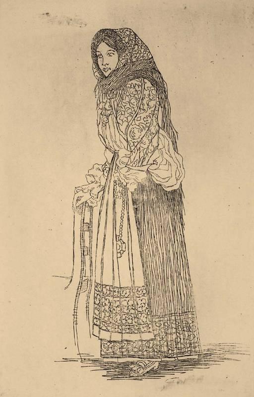Guido Colucci Costume di Oliena