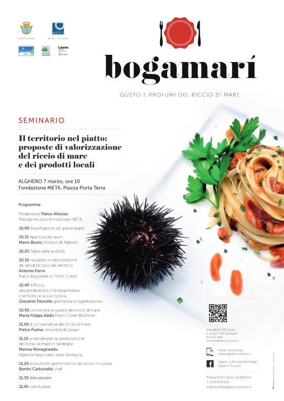 Seminario sul Bogamarì Alghero 7 marzo 2015 Fondaziione META Piazza Porta Terra