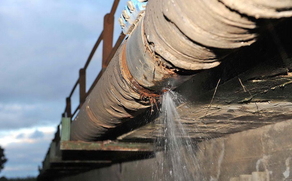 rete idrica colabrodo