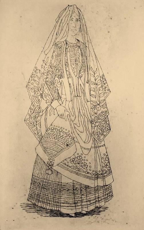 Guido Colucci Costume di Samugheo.