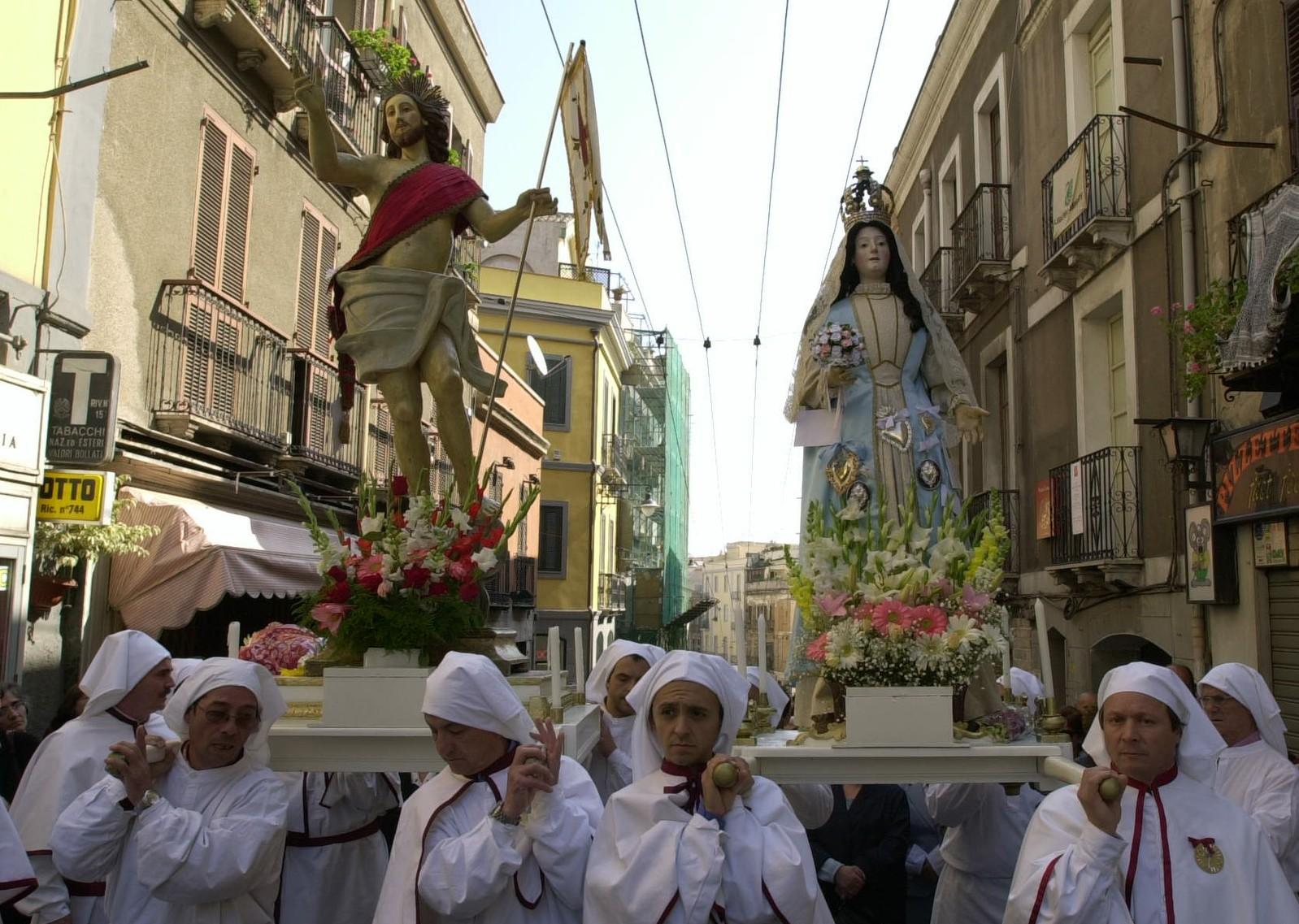 La Settimana Santa a Cagliari 2015