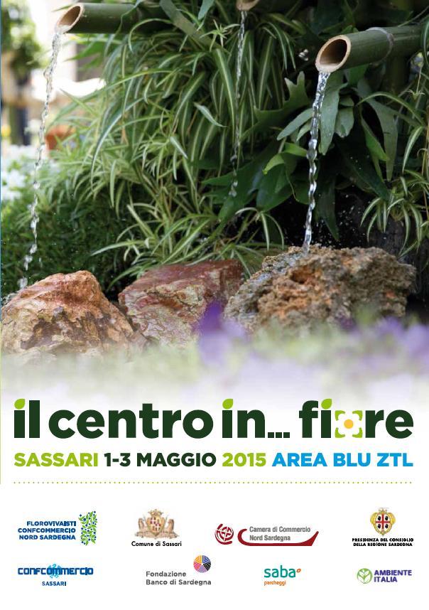 """A Sassari un fine settimana nel segno dei fiori. Nei giorni 1-2-3 maggio 2015 ritorna la rassegna florovivaistica """"Centro in..fiore""""."""