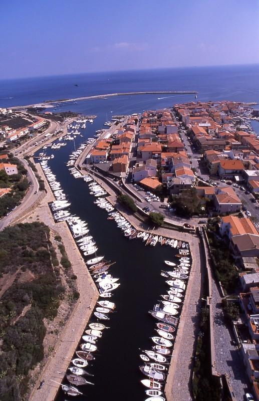 Panorama porto nuovo Stintino