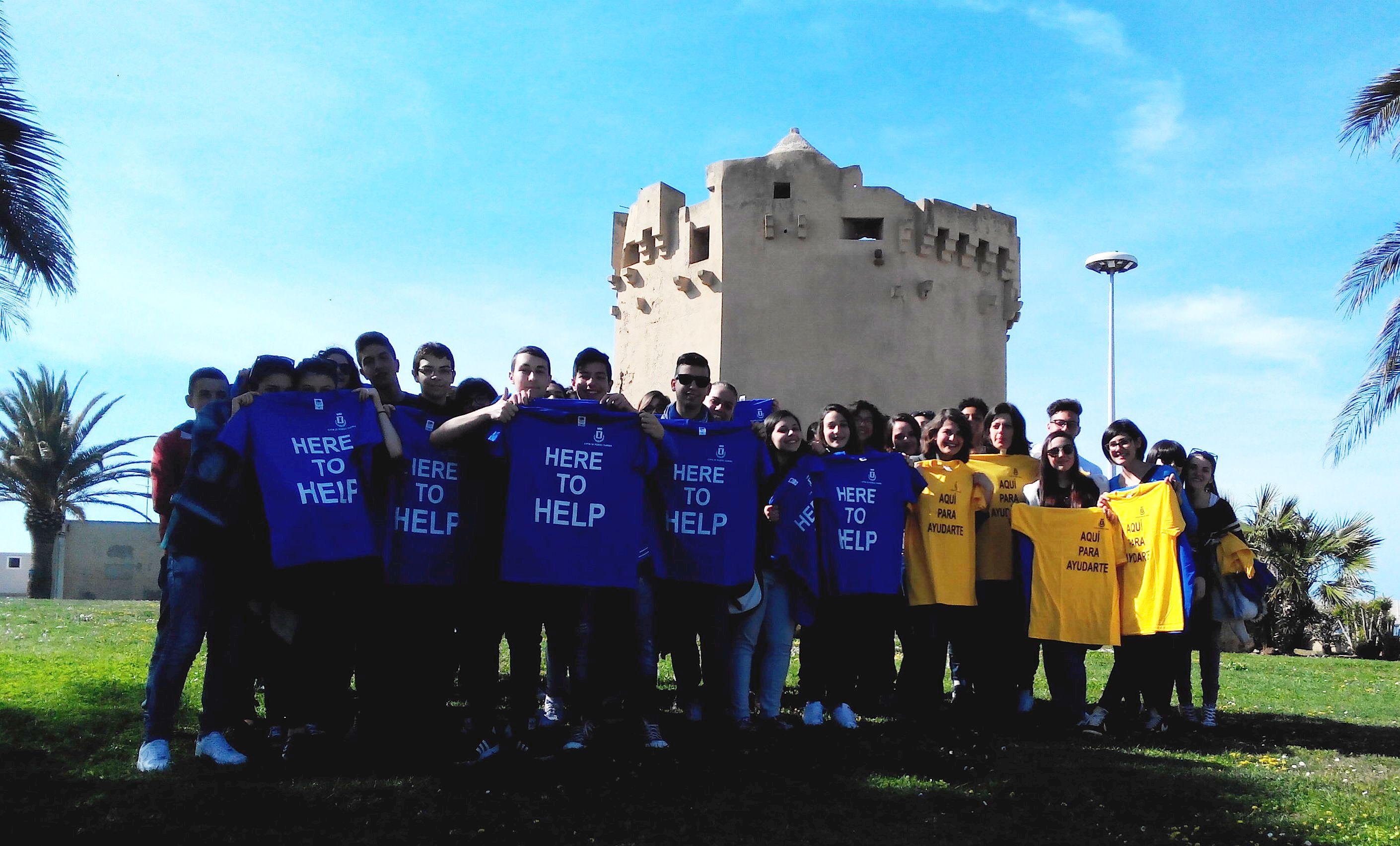 here to help Porto Torres pronta all'Accoglienza ai Croceristi della Mein Schiff 1 si parte il 18 aprile 2015.