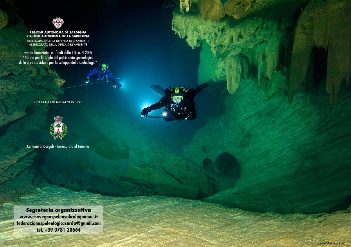 Convegno Spelosub Cala Gonone 23 maggio 2015 Regione Autunoma della Sardegna