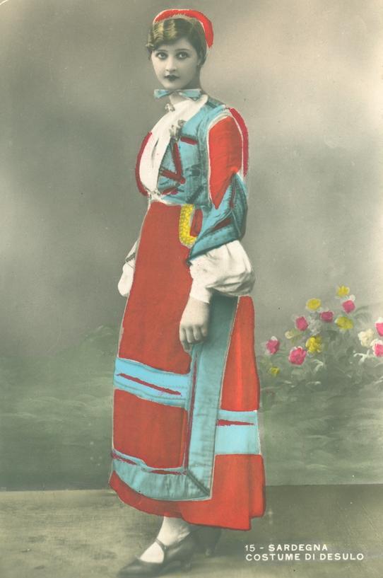 Desulo abito tradizionale