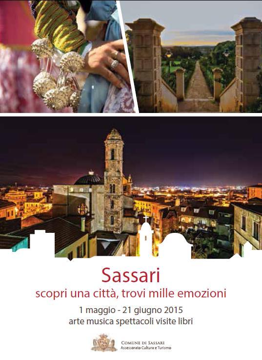 Eventi maggio e giugno 2015 a Sassari.