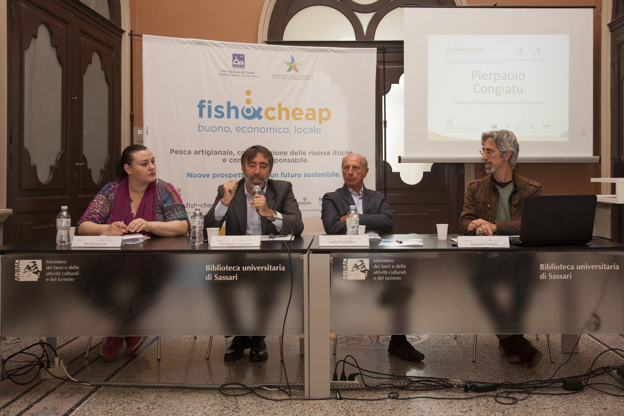 Gli Eventi Fish&Cheap tra il 28 e il 29 maggio 2015 all'Isola dell'Asinara e a Porto Torres.