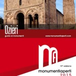 Monumenti Aperti 2015 farà tappa ad Ozieri il 30 e 31 maggio prossimi.