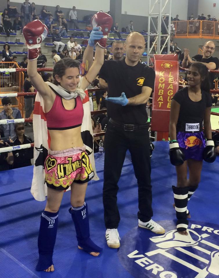 Muay thai Michela Demontis Verona.