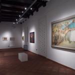 Oristano dall'8 Maggio alla Pinacoteca Carlo Contini la mostra Titino Sanna Delogu la collezione ritrovata e La città ritrovata nei plastici di Augusto Schirru.