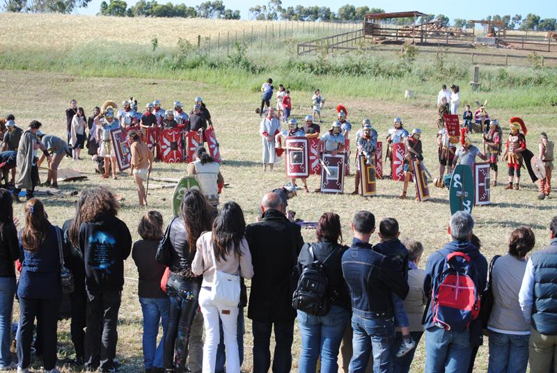 Sassari Ad signa milites Parco di rievocazioni storica Castrum Romano la Crucca Sassari Monumenti aperti 2015
