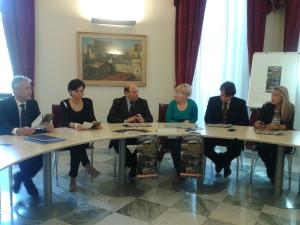 Conferenza stampa landwork argentiera