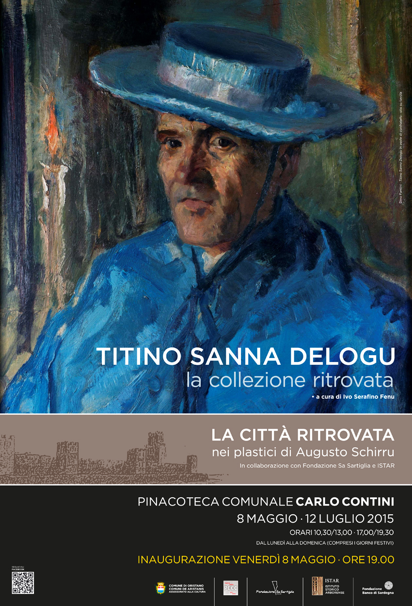 Oristano dall'8 Maggio alla Pinacoteca Carlo Contini la mostre Titino Sanna Delogu la collezione ritrovata e La città ritrovata.