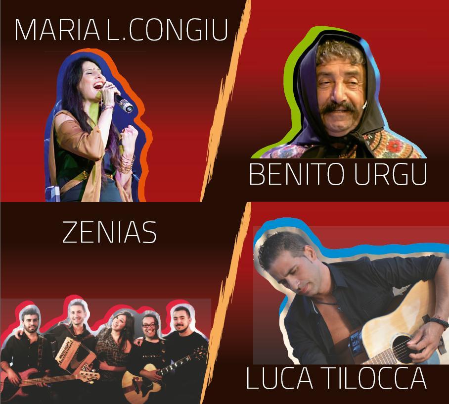 Voci di Maggio 2015 i cantanti Maria Luisa Congiu Benito Urgu Zenias Luca Tilocca