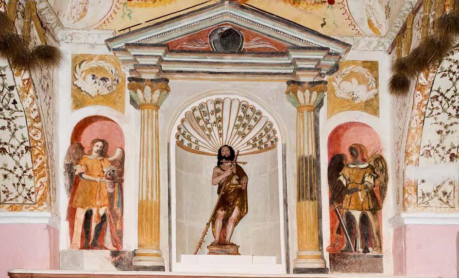Il mistero dell'Angelo nero della Chiesa di San Giovanni dei fiori a Oristano.