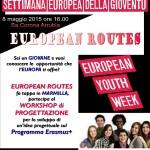 """European Routes inconta i giovani della Marmilla l'8 maggio 2015 alle ore 16 Museo Naturalistico del Territorio """"G. Pusceddu."""