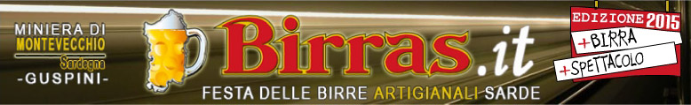 Birras Miniera di Montevecchio Guspini Ediione 2015 Festa delle Birre Atigianali Sarde
