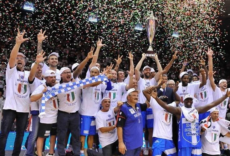 Dinamo Campioni d'Italia Basket 2014 2015