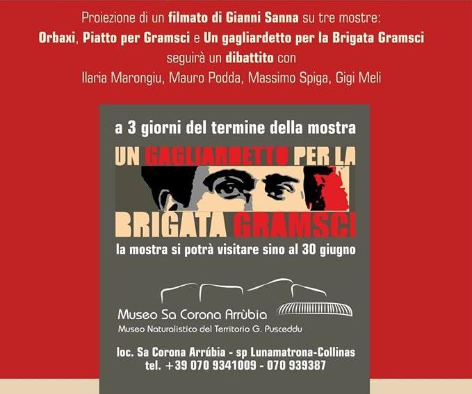 Locandina Conferenza Gramsci