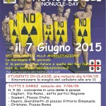 Il popolo sardo alza la testa e dice No Iscorias in Sardegna, noi non le vogliamo! Domani 7 giugno 2015 tutti in piazza a Cagliari-Sassari-Oristano-Olbia-Nuoro  in occasione del NoNucle-Die per gridare No Nucle No Iscorias in Sardegna.