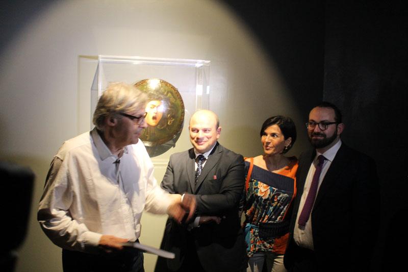 """A Sassari Caravaggio mostra curata da Vittorio Sgarbi. Apre a Sassari la mostra """"Caravaggio e i caravaggeschi"""" Dal 26 giugno al 30 ottobre 2015 apertura al pubblico in una sala Duce di Palazzo Ducale completamente rinnovata."""