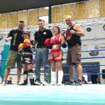 Il settore giovanile del Tarantini Muay thai boxing  al gala internazionale di Oristano.