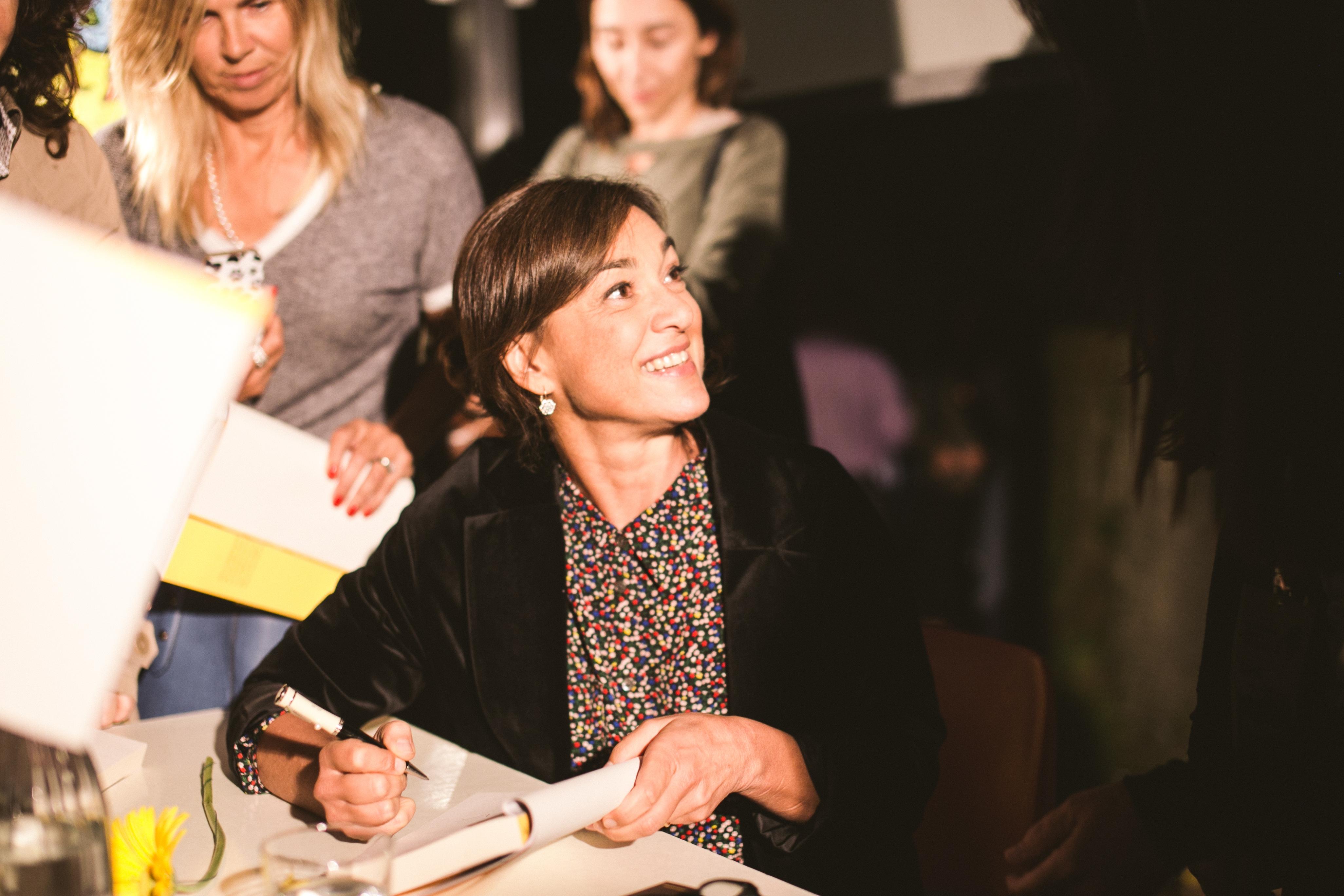 Daria Bignardi al Festival Letterario della Sardegna a Gavoi dal 2 al 5 luglio 2015.