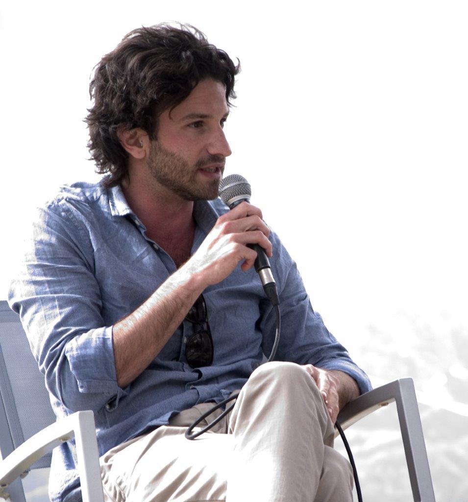Miguel Bonnefoy al Festival Letterario della Sardegna a Gavoi dal 2 al 5 luglio 2015.