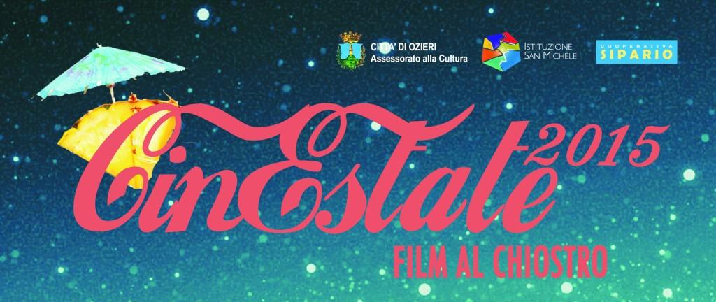 """Ozieri estate 2015 rassegna cinematografica """"Cinestate: film al chiostro"""" presso il Centro Culturale San Francesco."""