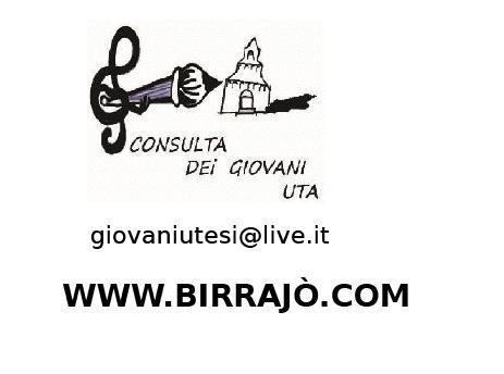 Consulta dei Giovani di Uta www.birrajò