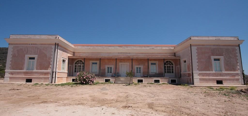 Edificio ex Ospedale a Cala Reale Asinara