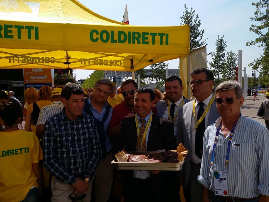 Sardegna all'Expo con Coldiretti dal 7 al 13 settembre 2015
