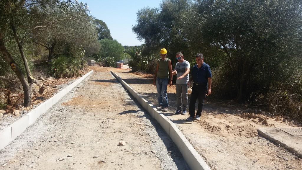 Comune di Alghero: procedono i lavori della nuova pista ciclabile Lido - Fertilia.
