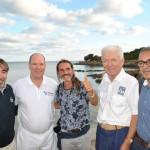 Il sindaco Sean Wheeler ha apprezzato la visita del principe Alberto di Monaco sull'isola dell'Asinara.