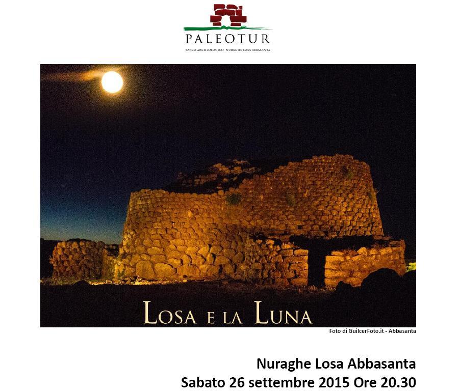 Nuraghe Losa Abbasanta sabato 26 settembre 2015 visita guidata dal Paleotur