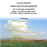 Sanluri 6 novembre 2015 incontro-dibattito ZONE NON SVANTAGGIATE: gli svantaggi competitivi, evento promosso dalla Coldiretti Cagliari.