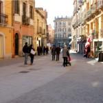 A Cagliari il 17 dicembre 2015 Via Garibaldi è in festa.