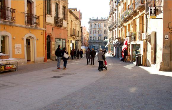 Via Garibaldi in Festa 17 dicembre 2015 Natale a Cagliari