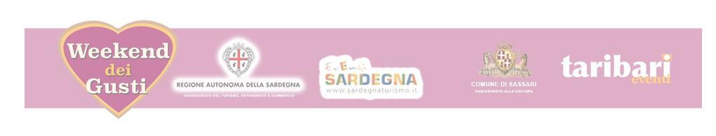 Weekend dei Gusti 2015 Centro Storico Sassari 4 e 5 dicembre 2015