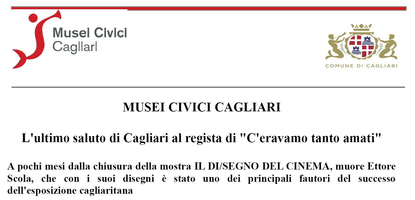 I Musei Civici di Cagliari ricordano il Maestro Ettore Scola.