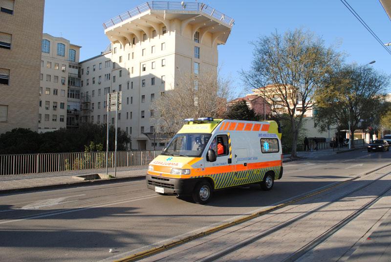 Sassari 4 gennaio 2016. Il sindaco di Sassari Nicola Sanna apre la conferenza sulla fusione dell'ospedale Santissima Annunziata con l'Azienda ospedaliero universitaria.