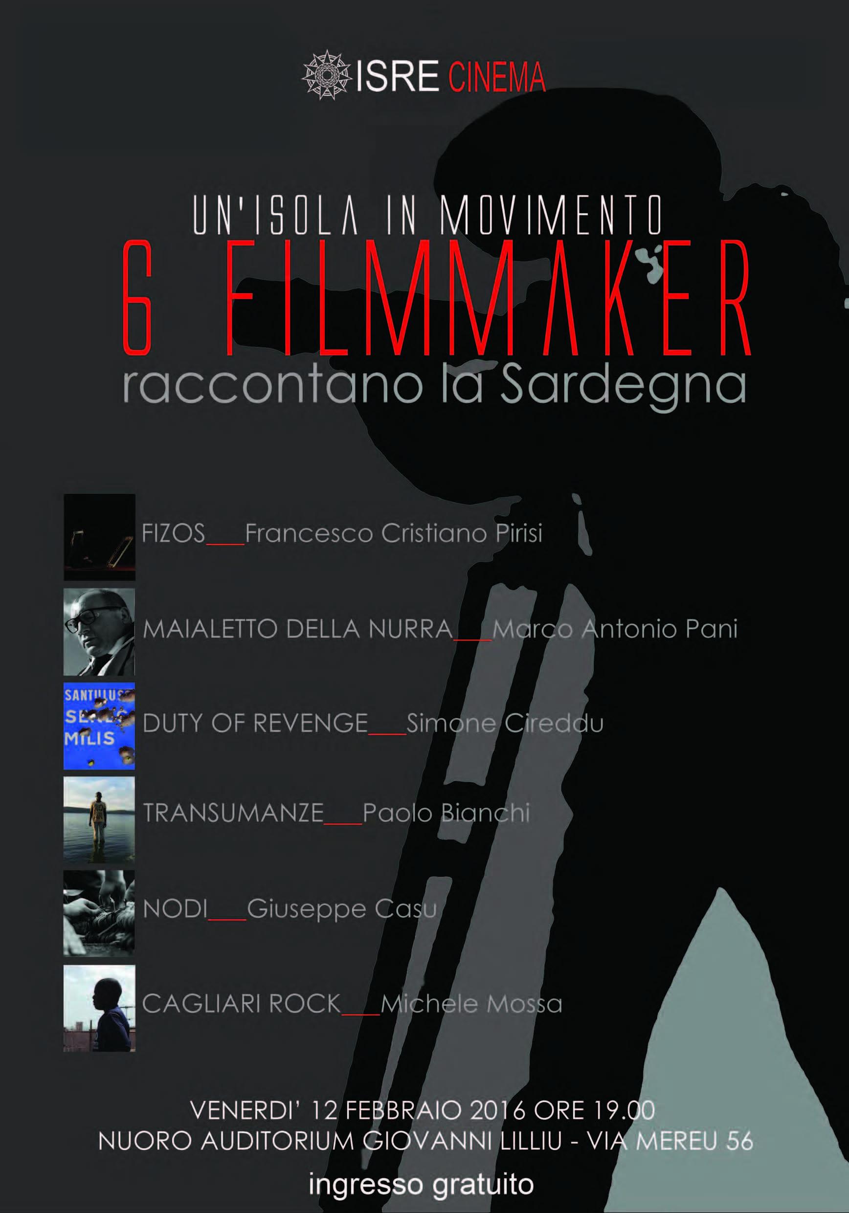 ISRE, da febbraio 2016 le nuove iniziative dedicate al cinema. Ad aprile il nuovo Festival cinematografico.