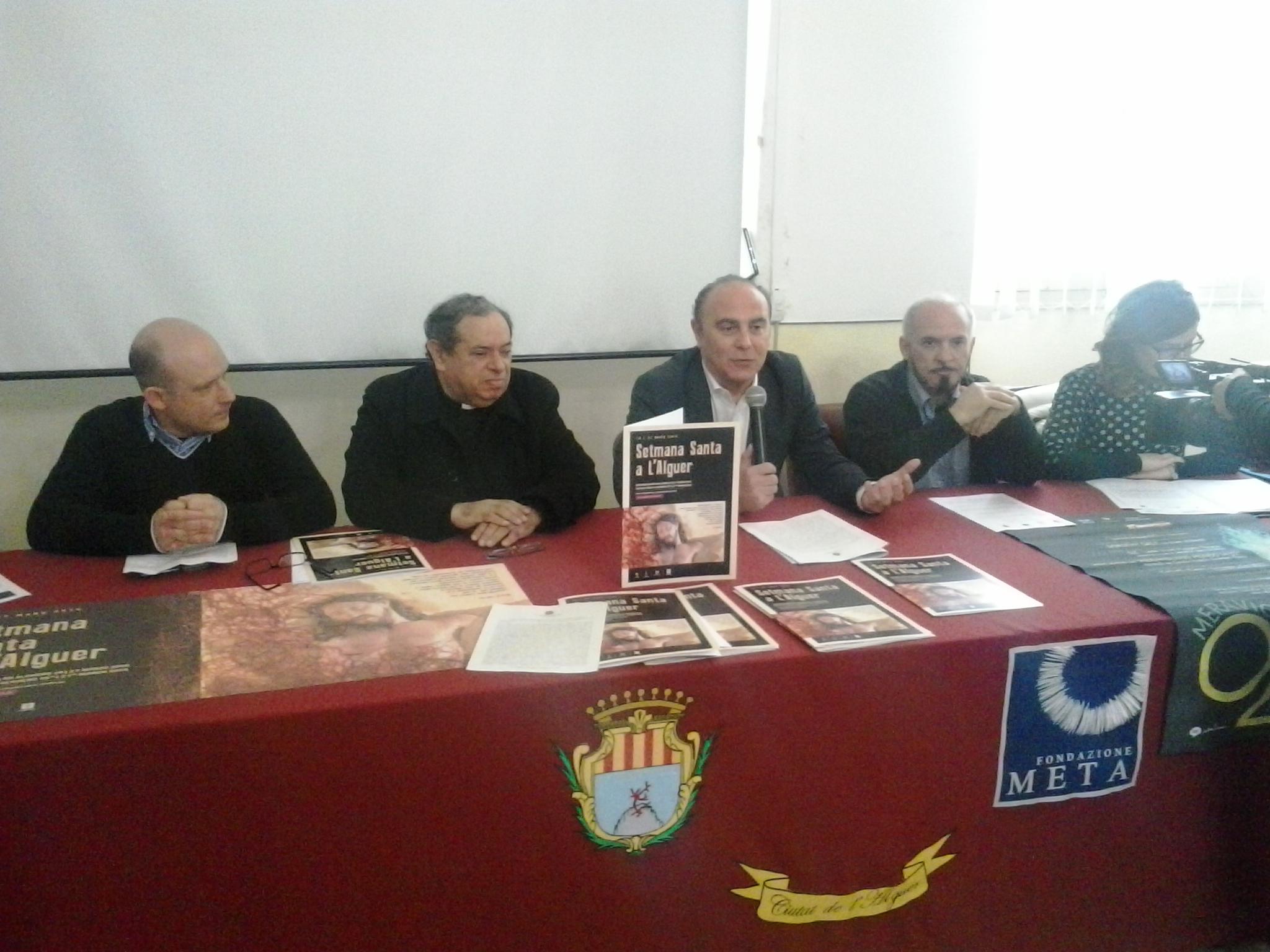 Conferenza Stampa per la Settimana Santa ad Alghero 2016 e tutti gli Eventi Turistici Collegati.