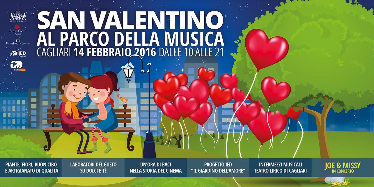San Valentino Parco Musica Cagliari 14 Febbraio 2016