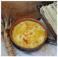 Su Succu è un caratteristico piatto preparato con tagliolini all'uovo