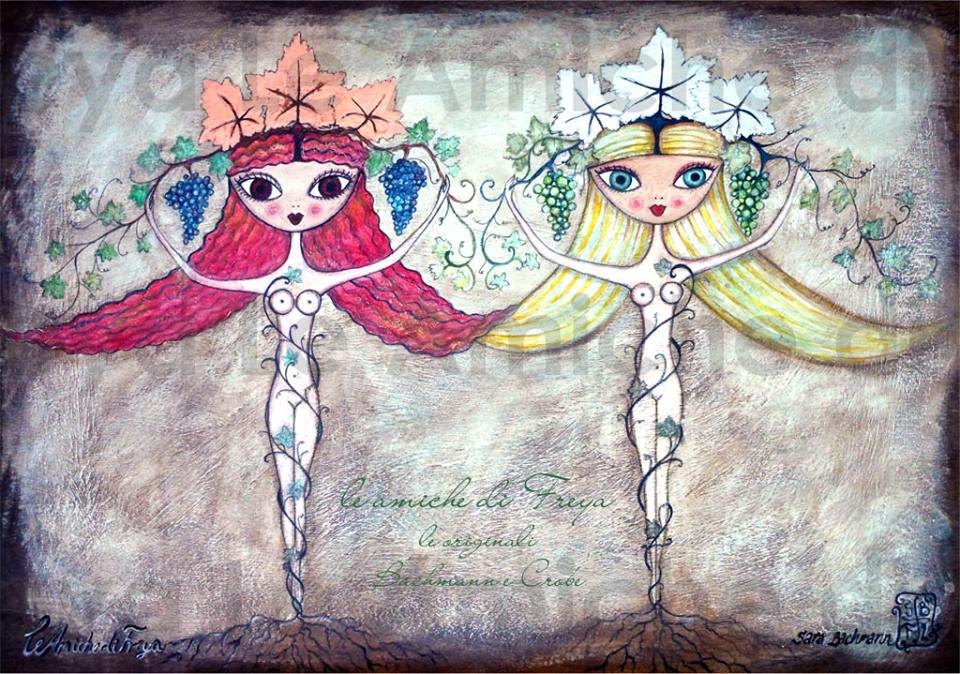 """Le amiche di Freya Mostra Janas e Galanas di Sara Bachmann e Gianni Crobe Museo Archeologico """"Alle Clarisse"""" Ozieri visitabile fino al 10 Aprile 2016."""
