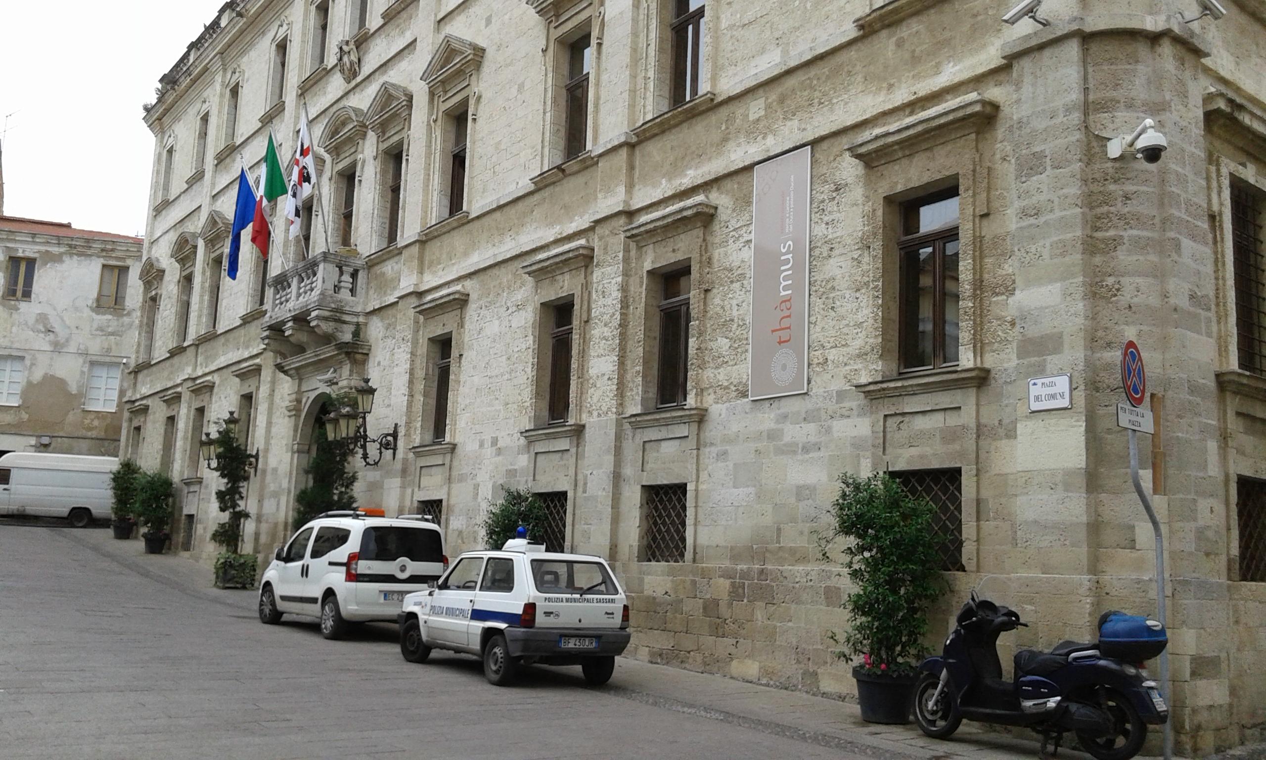 Palazzo Ducale Sassari Monumenti aperti 7 e 8 maggio 2016
