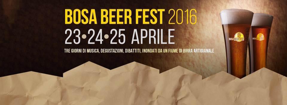 Bosa Beer Fest 2016 dal 23 al 25 Aprile tre giorni di musica di degustazioni di dibattiti e innondati da fiumi di birra artigianale